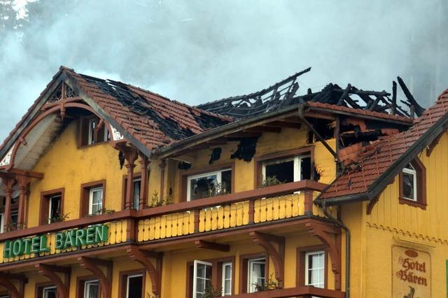 Wie Hotelgäste den Brand im