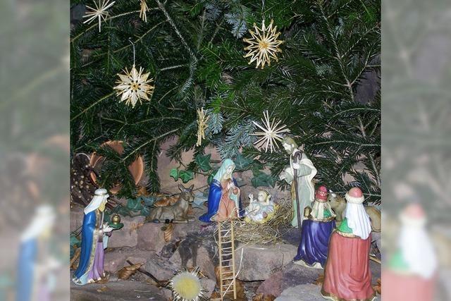 Wie die Grotte in Bethlehem