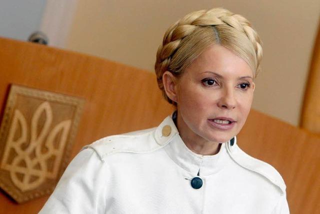 Timoschenko im Straflager