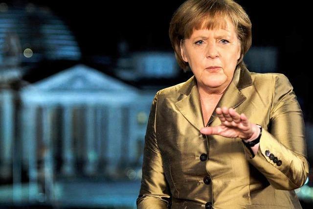 Merkel: Deutschland geht es gut