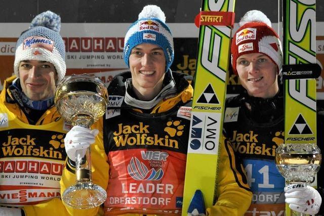 Deutsches Trio in der Top Ten