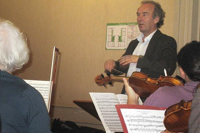 Ein Dirigent, der sich nicht als tonangebender Maestro versteht