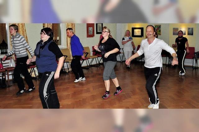 Zwischen Tanz und Training