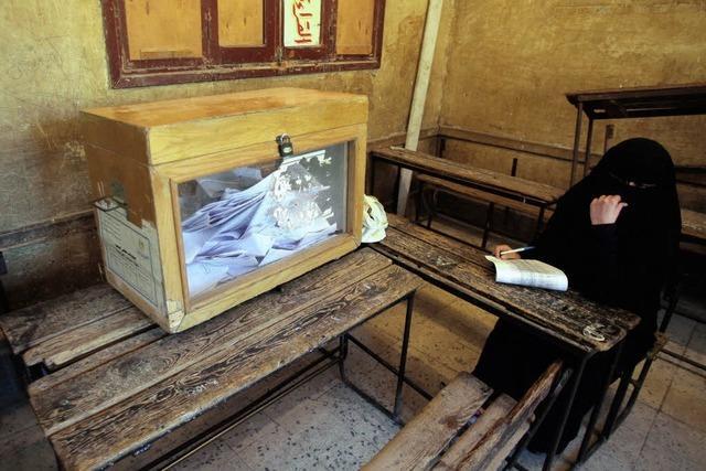 Schlägereien bei der Wahl in Ägypten