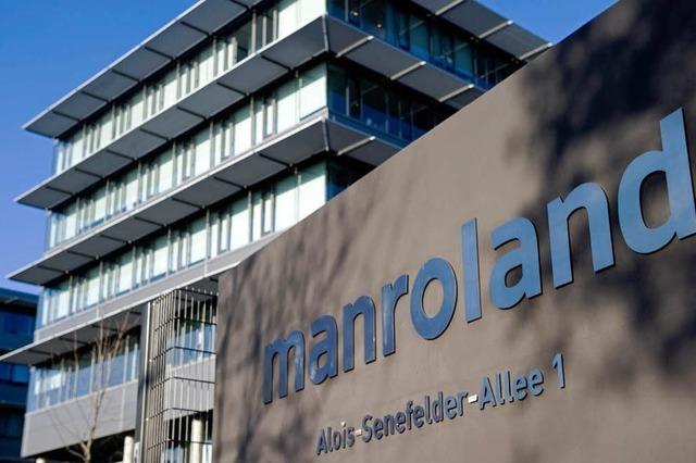 Manroland zahlt für Rettung mit Jobabbau