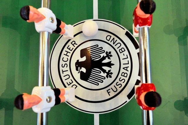 Deutsche Tischfußballer wollen den Titel