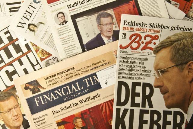 Presse zum Wulff-Interview: Nur ein Satz fehlte: