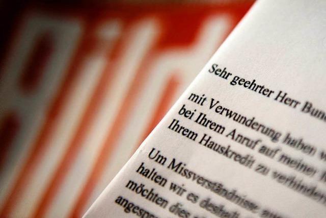 Wulff lehnt Veröffentlichung von Mailbox-Nachricht an