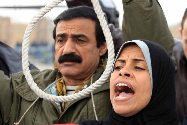 Staatsanwalt fordert Todesstrafe für Mubarak