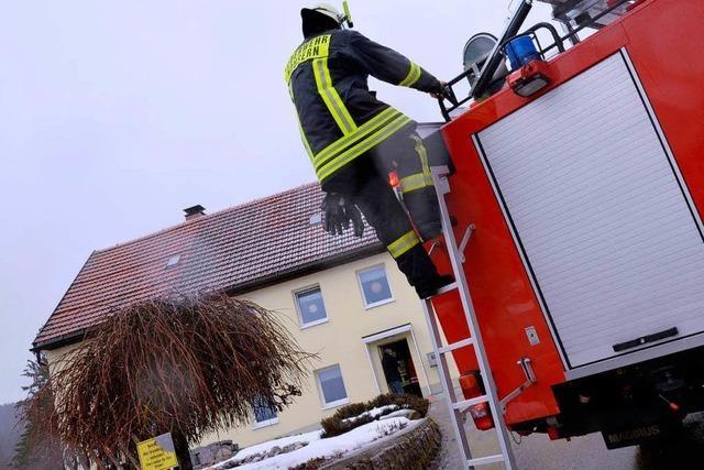 Heizungsbrand in Häusern: Rauchmelder verhinderte Schlimmeres