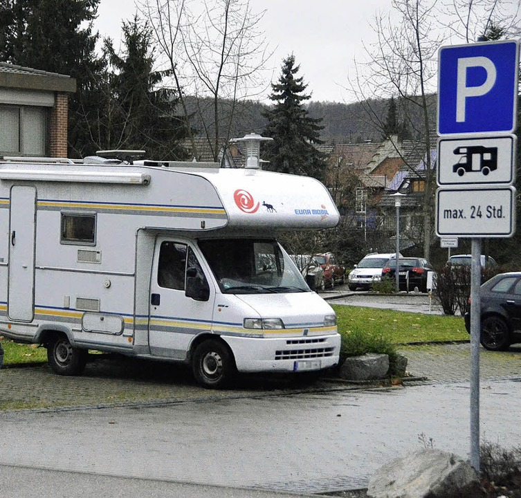 So ist's auf alle Fälle nicht fa... Fahrzeug zu Recht auf dem Parkplatz.   | Foto: Markus Maier