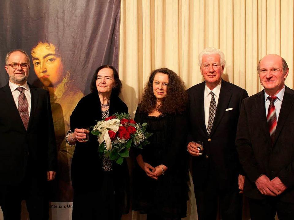 Irmgard Wellmann (2. von links), Nachf...amilie von Constanzes Urgroßvater (r.)  | Foto: Hermann Jacob