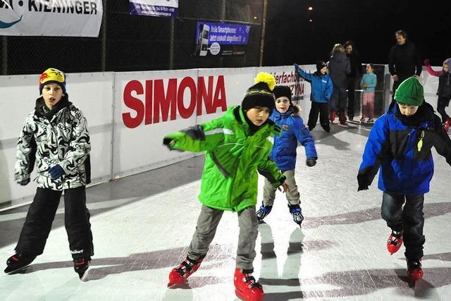 Mietersheim auf dem Eis