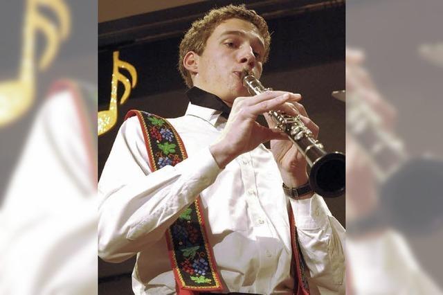Mit der Klarinette gibt es zum Spaß auch Gänsehaut