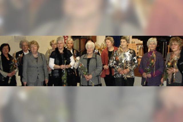 Sänger können sich auf treue Mitglieder verlassen