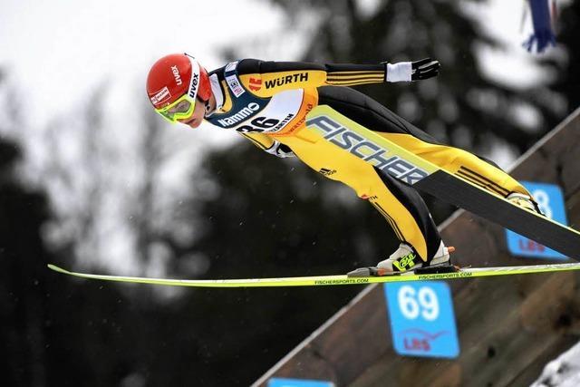 In Hinterzarten heben die Skispringerinnen bei Weltcup ab