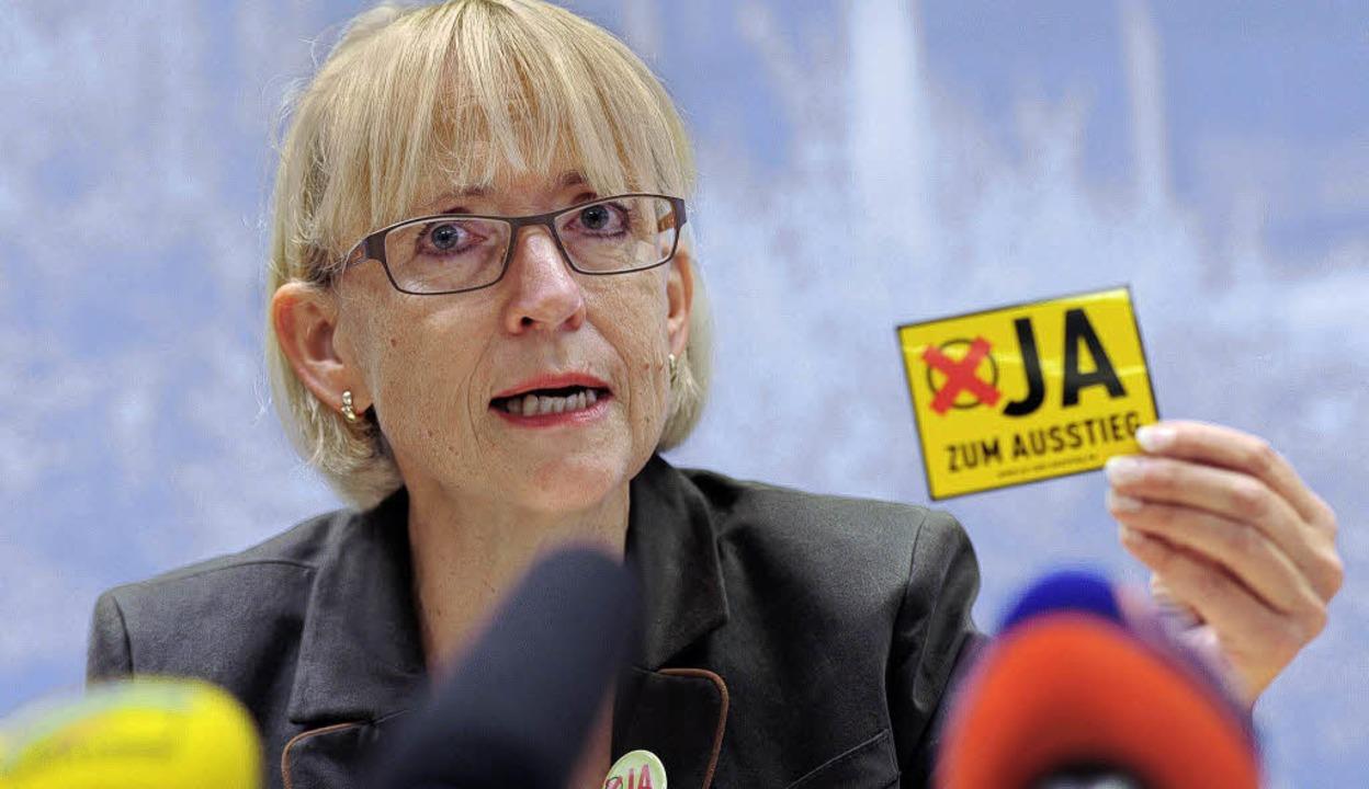 Lange Zeit das Gesicht des Protestes g...ND- Landesvorsitzende und SPD-Mitglied  | Foto: DPA