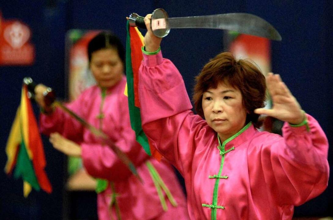 Tai-Chi kommt ursprünglich aus Asien  | Foto: AFP