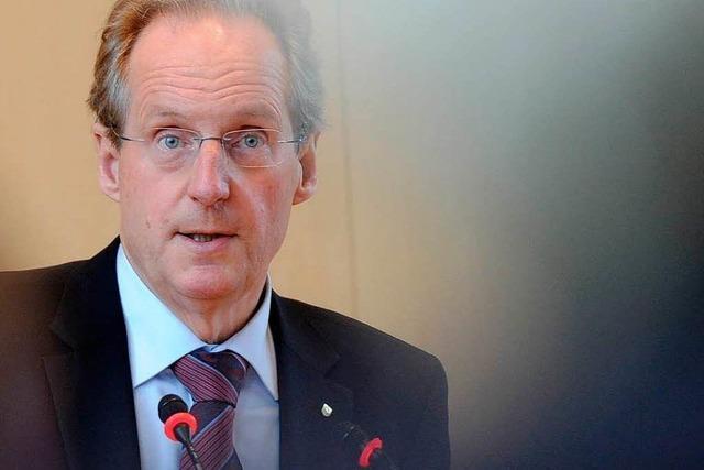 Stuttgarts Oberbürgermeister Schuster hört 2013 auf