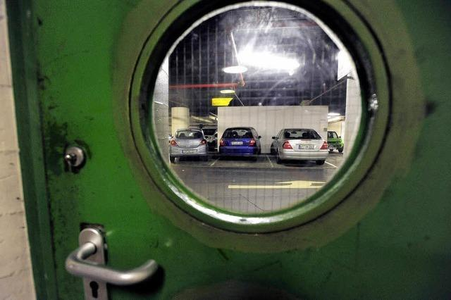 Rotteck-Garage wird saniert - weniger Parkraum in Freiburg