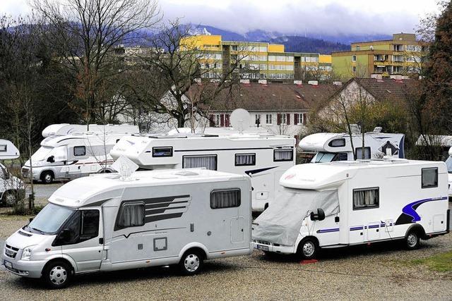 Stadt sucht neuen Wohnmobil-Stellplatz