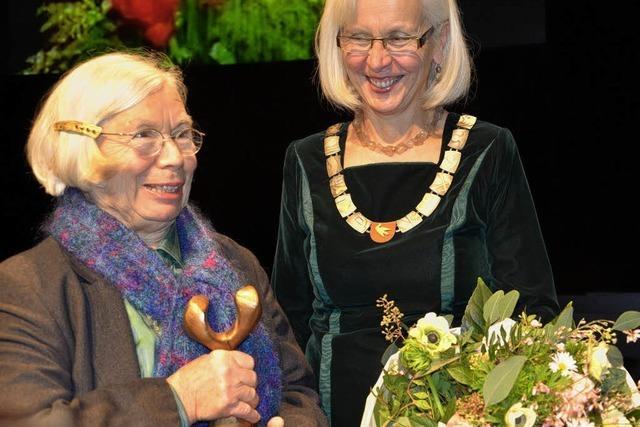 Markus-Pflüger-Preis für Christine Kaltenbach und ihre Familie
