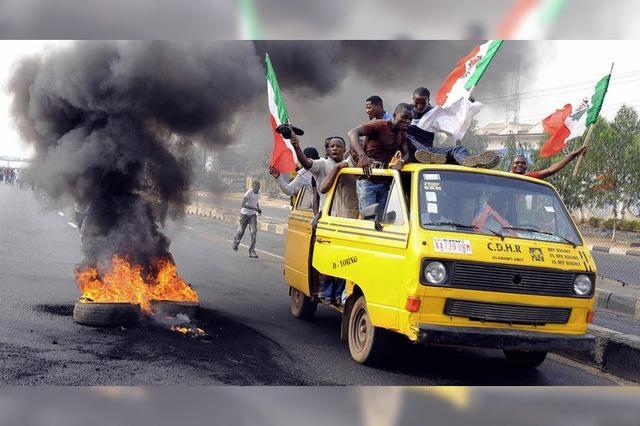 Tage des Zorns in Nigeria