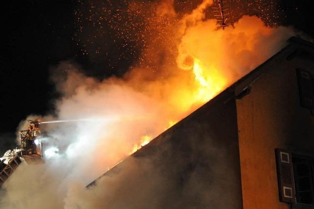Untermieter stirbt bei Wohnhausbrand in Nimburg