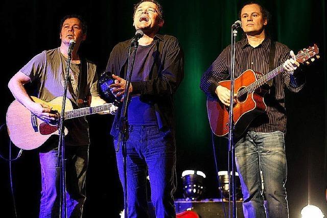 AB DONNERSTAG:POPROCK: Drei Brüder, zwei Gitarren