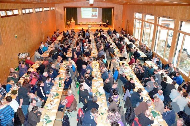 Bereichsversammlung für den Kaiserstuhl: