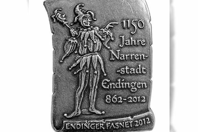 1150 Jahre Narrenstadt als Motiv