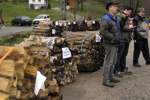Ein ganzer Haufen Holz