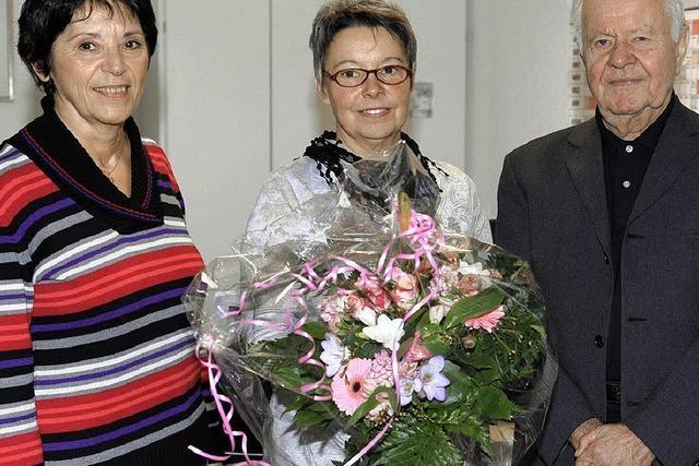 Irene Messmer gibt den Kochlöffel ab