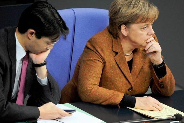 Merkel empört die FDP-Spitze