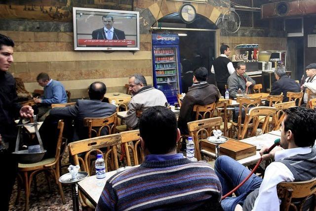 Assad wittert Intrigen