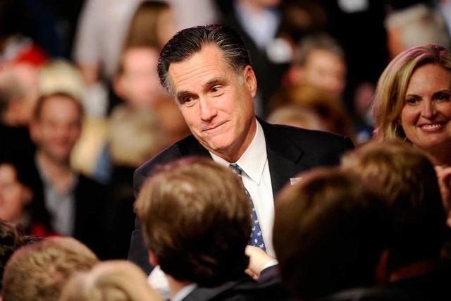 Republikaner Romney triumphiert bei zweiter US-Vorwahl