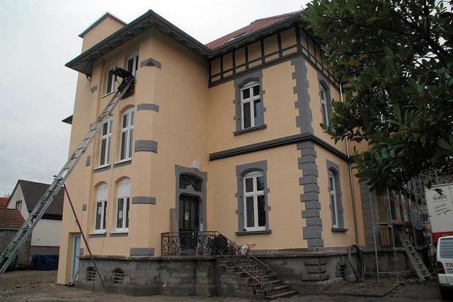 Die Villa im Lindengarten wird zum Ärztehaus