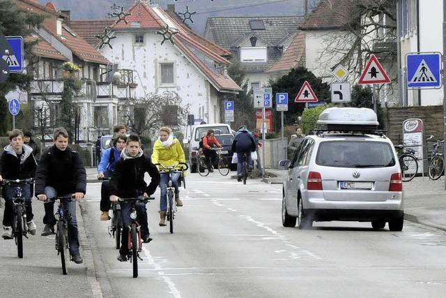 Kein Plazet für den Radwegebau