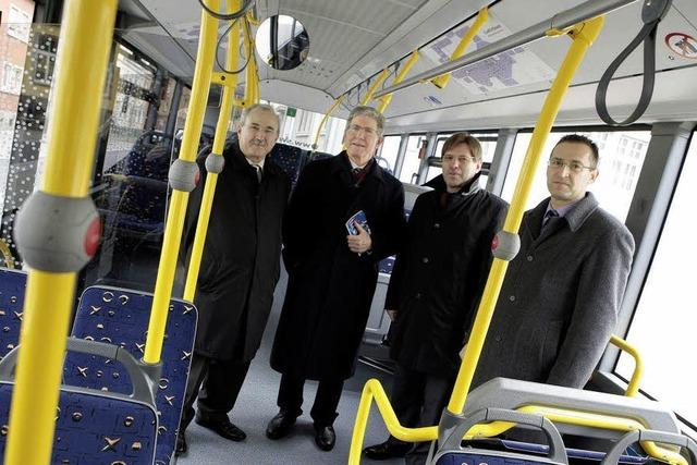 Vier neue Busse in Lahr
