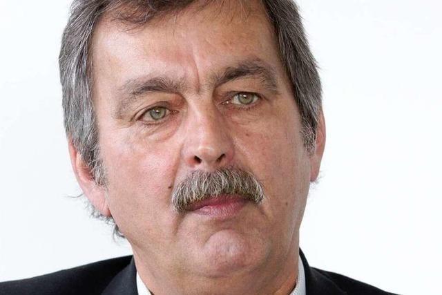 Polizeipräsident Züfle:
