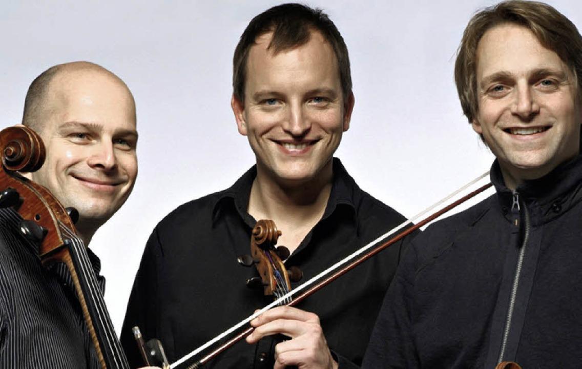 Trio Echnaton: Frank-Michael Guthmann, Sebastian Krunnies und  Wolfram Brandl   | Foto: PR