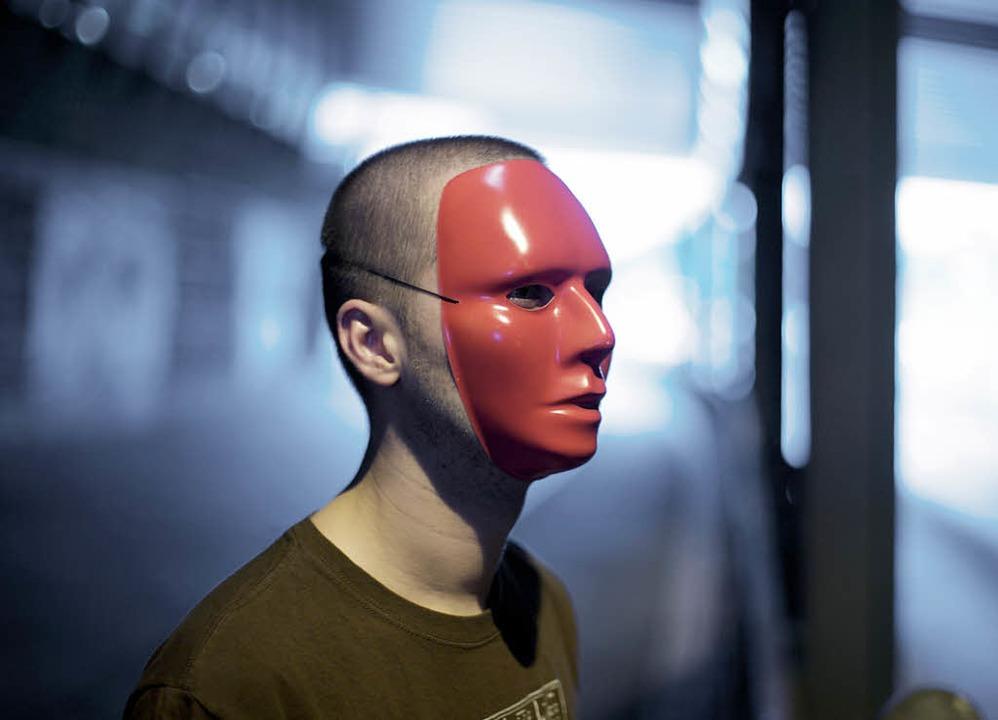 Eine Kunstfigur: Redshape    Foto: Ragnar Schmuck