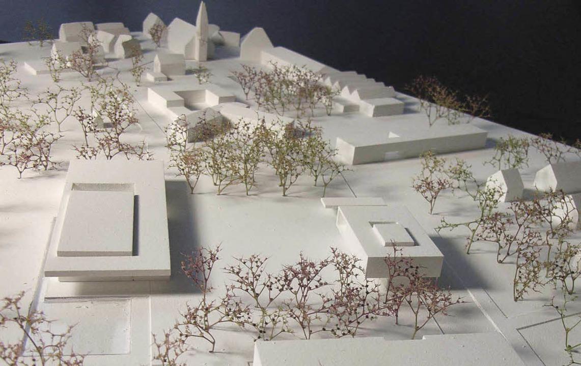 """Das Projekt """"Erweiterung Ost&#82...Investition in die Zukunft des Ortes.     Foto:  fuchs+Maucher Architekten/ REPRO. BZ"""