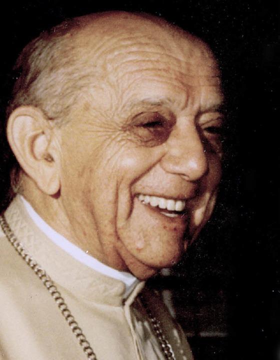 Erzbischof Hélder Câmara, einer der be...en Vertreter der Befreiungstheologie.   | Foto: BZ