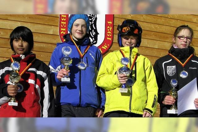 Ski-Jugend bereits in Form