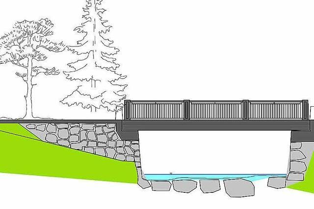 Gemeinderat verabschiedet Sanierungskonzept für die Schwinbachbrücke