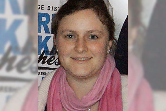 Karina Thomann leitet die Jugend des MV Wallbach
