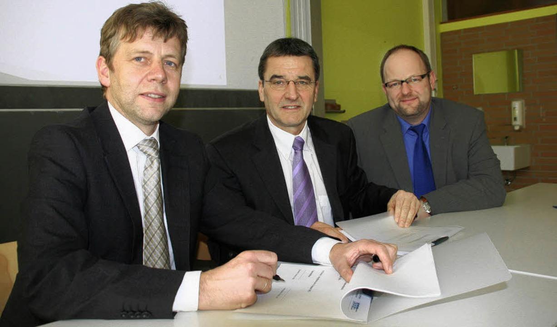 Die Kaufmännische Schule Schopfheim is...pfheim, Martin Dalhoff, Referent im RP    Foto: Marlies Jung-Knoblich