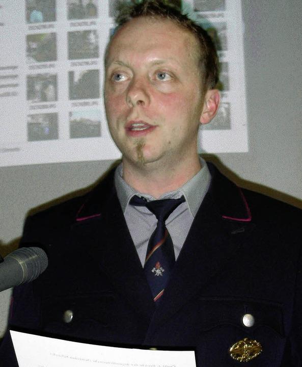 Der Gottenheimer Feuerwehrkommandant Jens Braun.   | Foto: schö