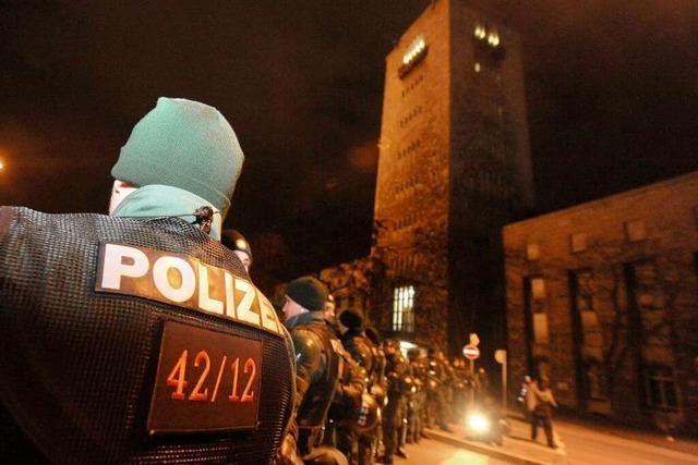 Abriss des Südflügels: Polizeieinsatz zu S 21 kostete vier Millionen